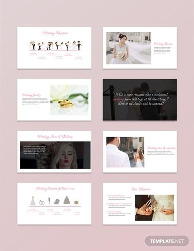 wedding powerpoint presentation template