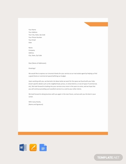 Realtor Recommendation Letter Examples from images.examples.com