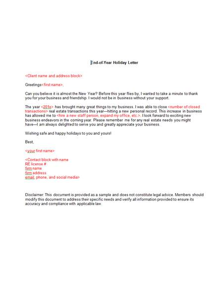 10+ Real Estate Announcement Letter Examples & Templates [Download