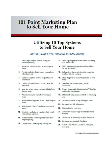 6 real estate listing marketing plan checklist