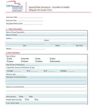 accident health request for quote form1