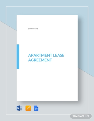 apartment tenant lease agreement