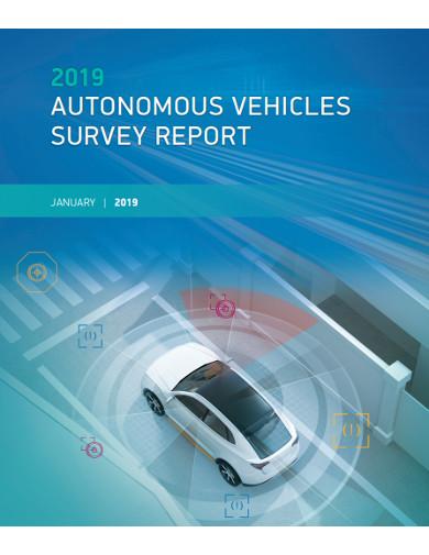 autonomous vehicles survey report