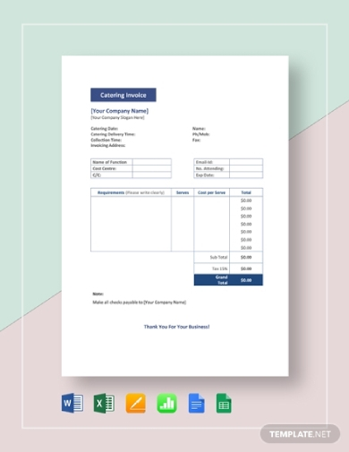 basic catering invoice1
