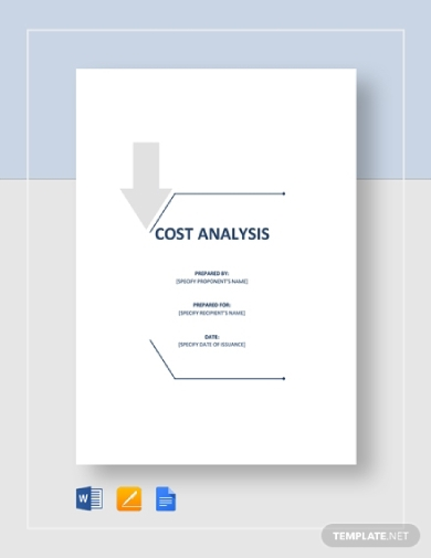 basic cost analysis