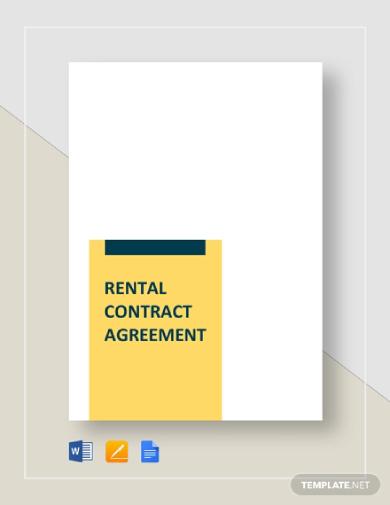 basic rental contract