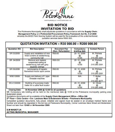 bid quotation notice invitation1