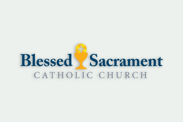 blessed sacrament catholic church logo