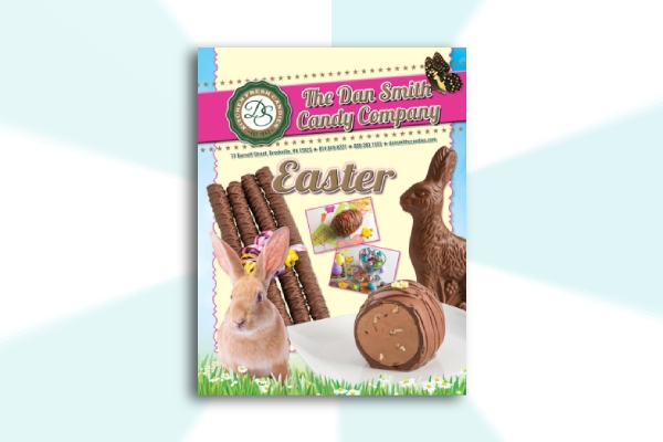 candy company easter brochure