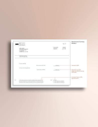 car rental invoice1