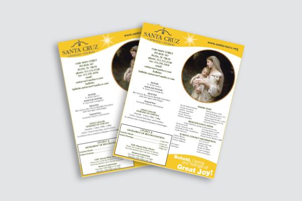 catholic church bulletin