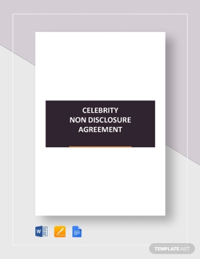 celebrity non disclosure agreement