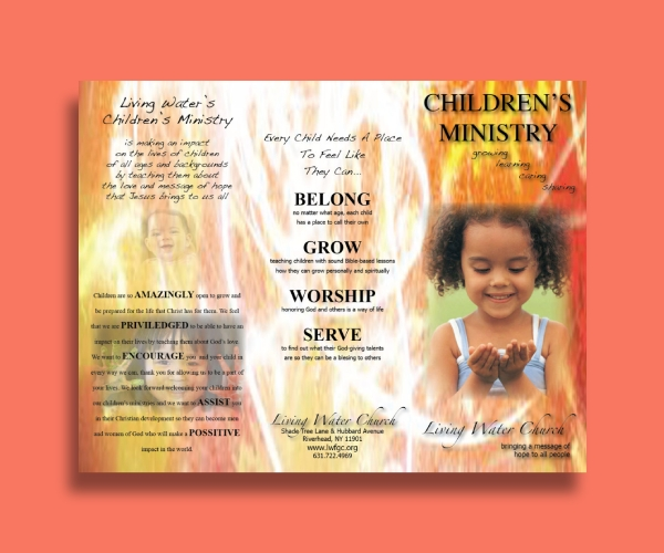 church childrens brochure