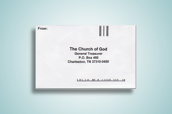 church return envelope
