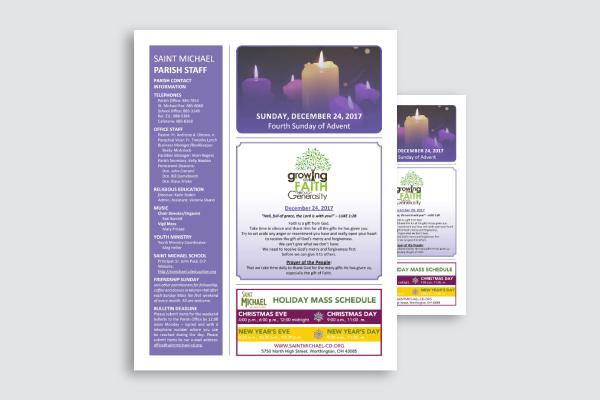 church web bulletin