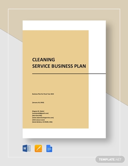 11 Best Cleaning Service Business Plan