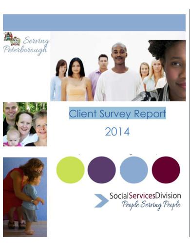 client survey report