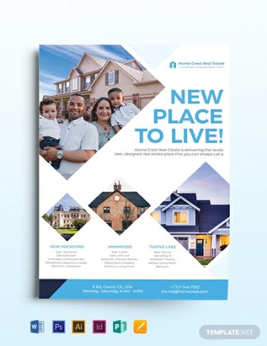 commercial real estate marketing flyer