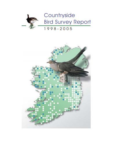 countryside bird survey report