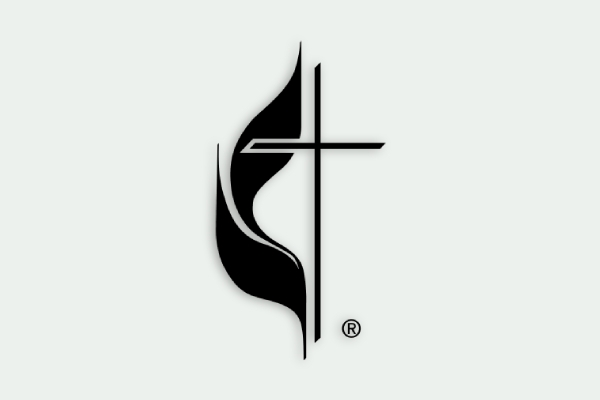 cross and flame logo of the united methodist church