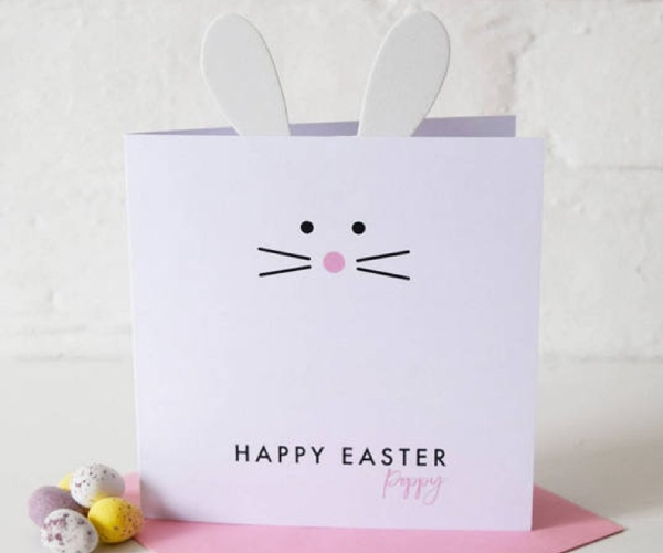 cute easter card for baby