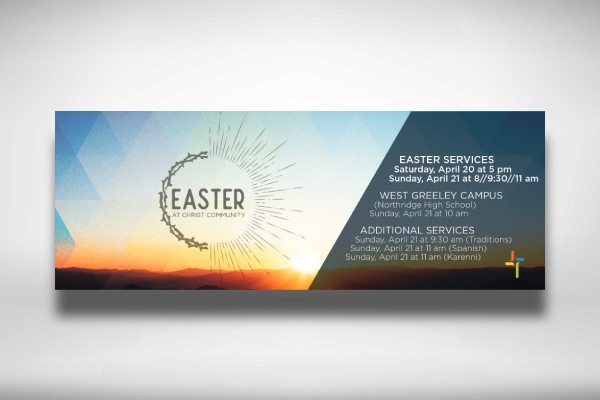 easter christ community banner