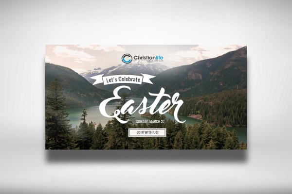 easter church banner