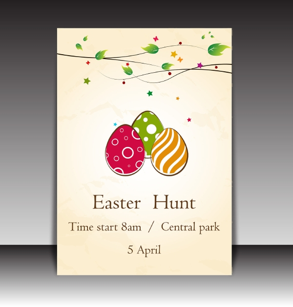 easter hunt brochure