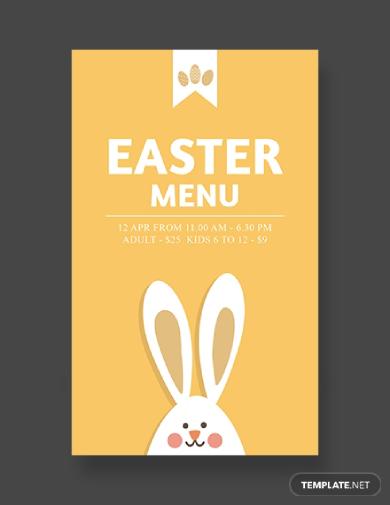 easter menu card2