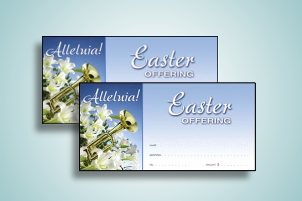 easter offering church envelope