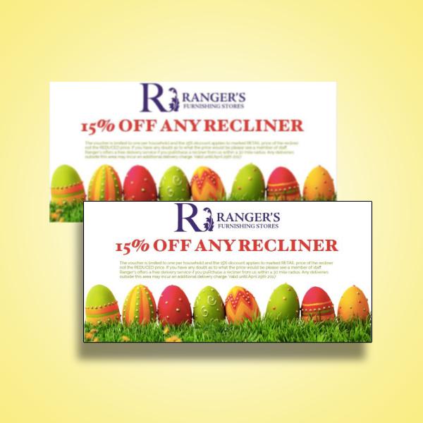 easter recliner offer voucher