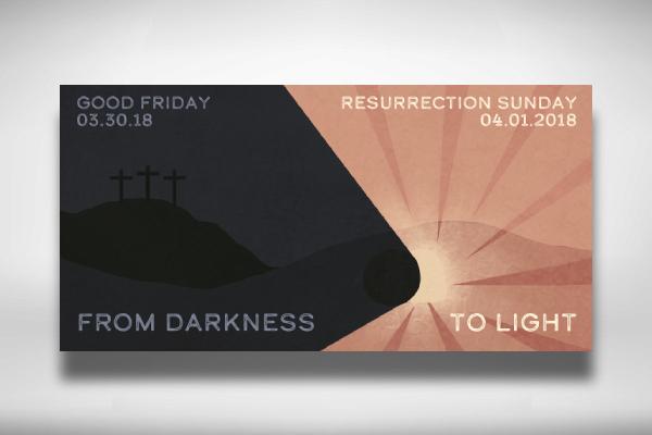 easter sermon banner