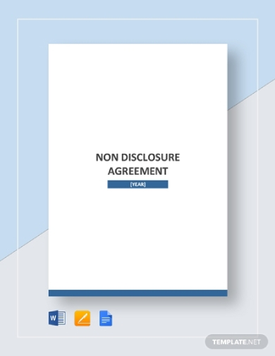 Free 12 Non Disclosure Agreement Examples Templates