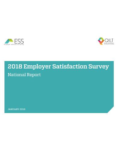 employer satisfaction survey