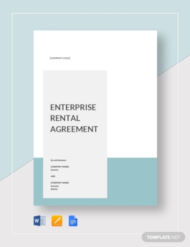 enterprise rental agreement