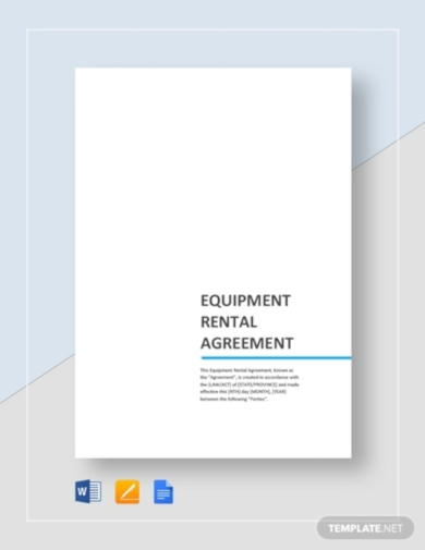 equipment rental agreement2