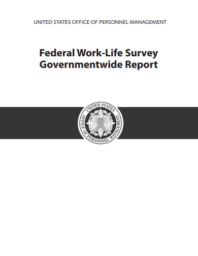 federal work life survey report