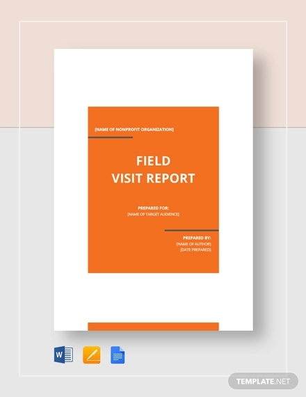 field visit report template