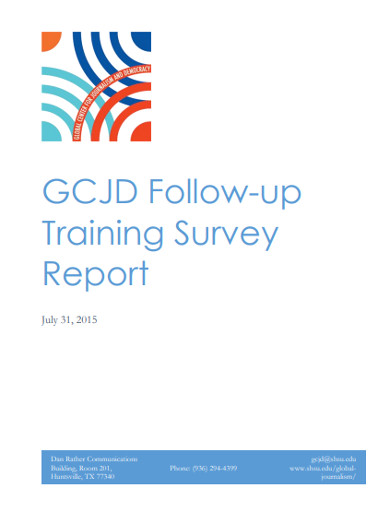 follow up training survey report