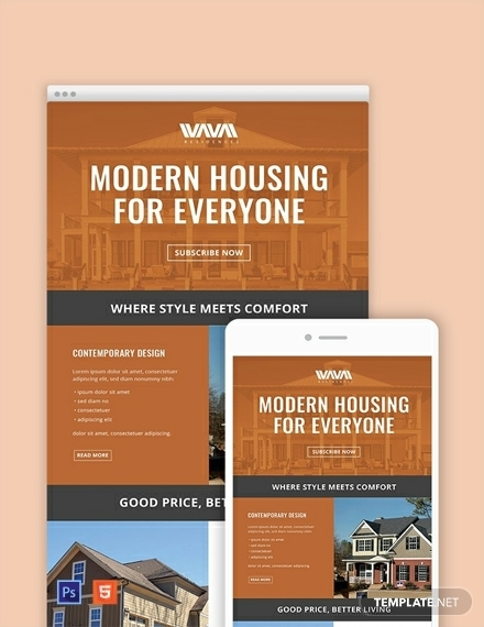 free real estate email newsletter