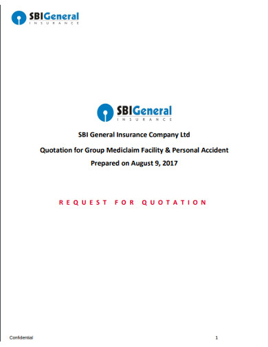 general insurance company quotation
