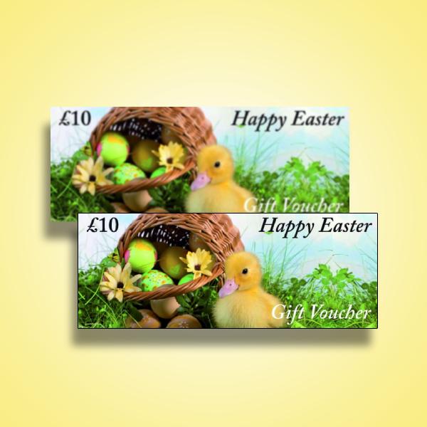 happy easter gift voucher