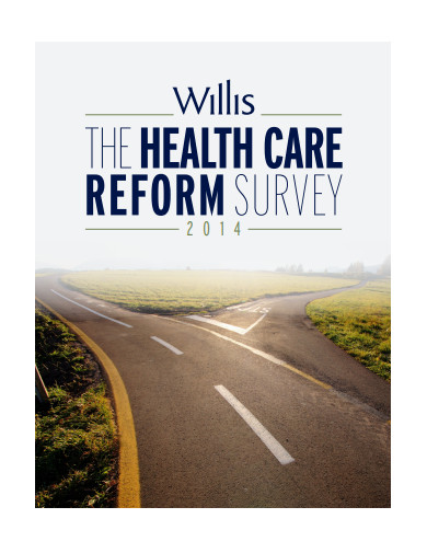 health care reform survey