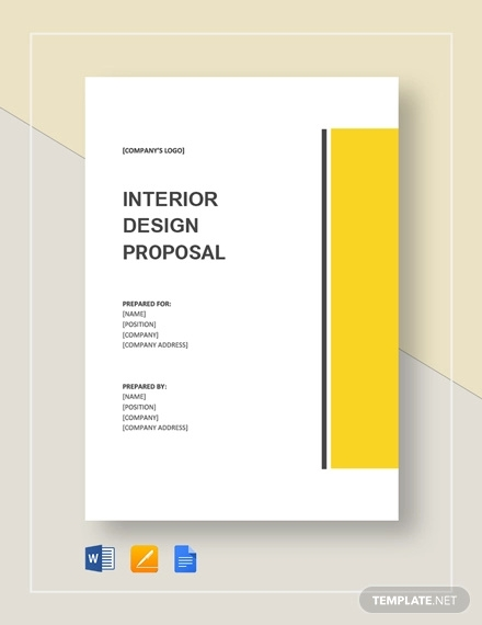 8+ Interior Design Proposal Examples , PDF