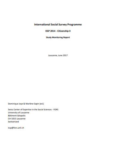 international social survey programme