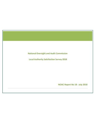 local authority satisfaction survey