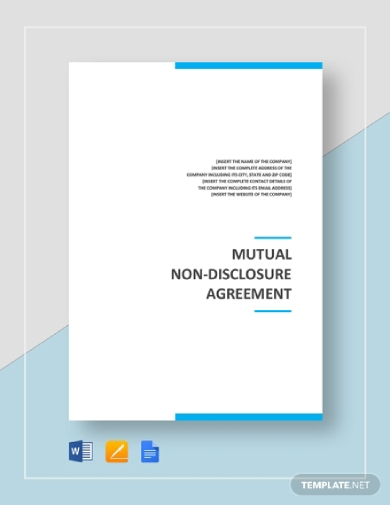 mutual non disclosure agreement