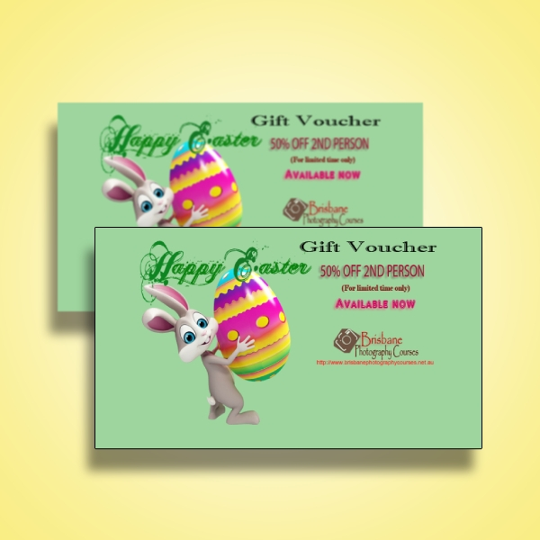 photography easter gift voucher