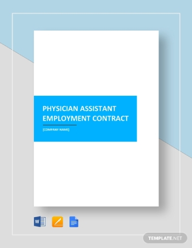 physician assistant employment contract