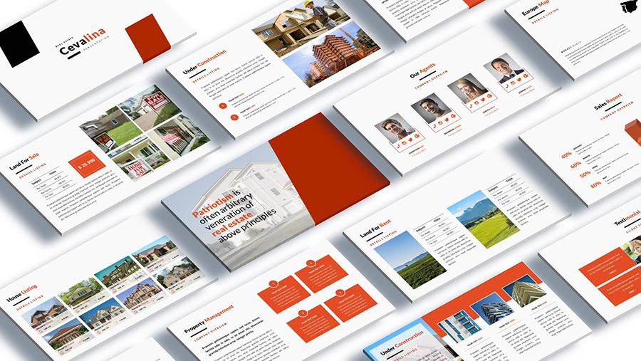 powerpoint real estate marketing presentation